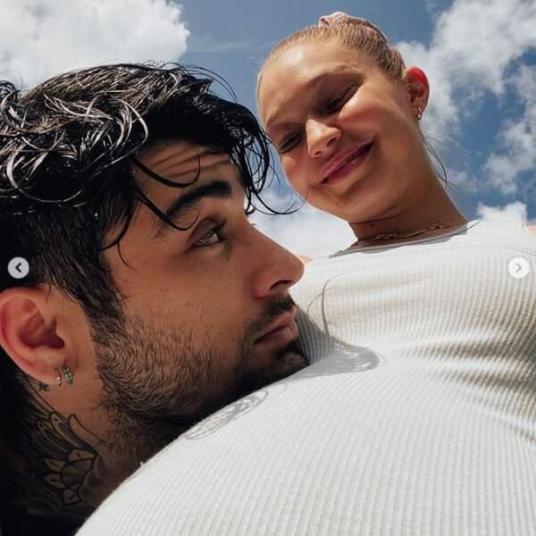 Voici une photo vintage des amoureux Zayn Malik et Gigi Hadid, quelques mois avant la naissance de leur fille.