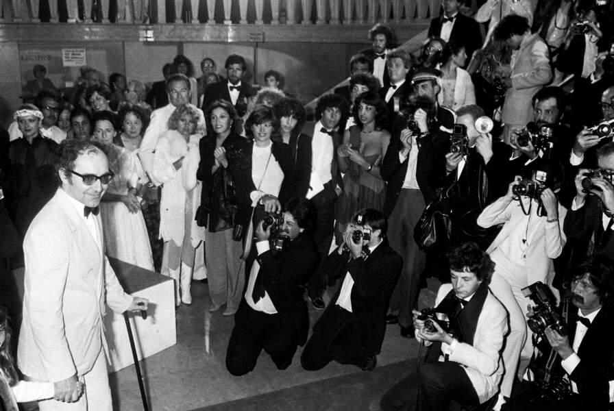 """En 1982, Jean-Luc Godard revient à Cannes pour présenter """"Passion"""" et se prêter au jeu de la conférence de presse."""