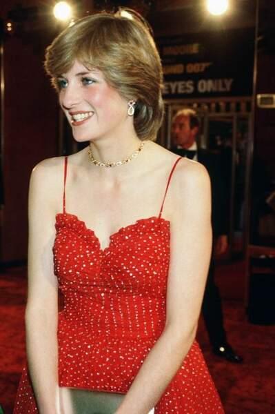Ce soir là, Diana, passionnée de danse classique, avait eu la chance de parler à Rudolf Noureev.