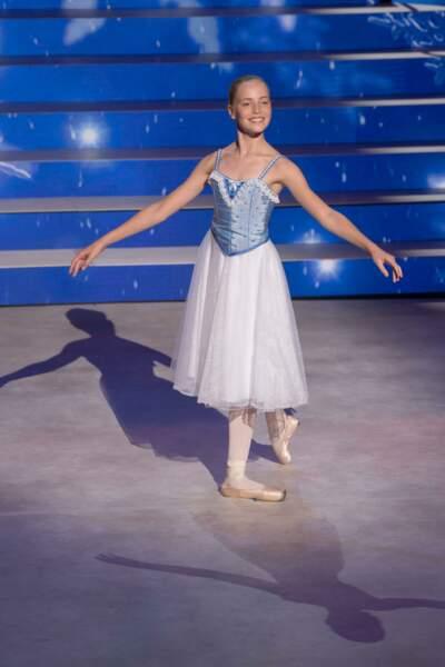 Juliette, 13 ans, danse