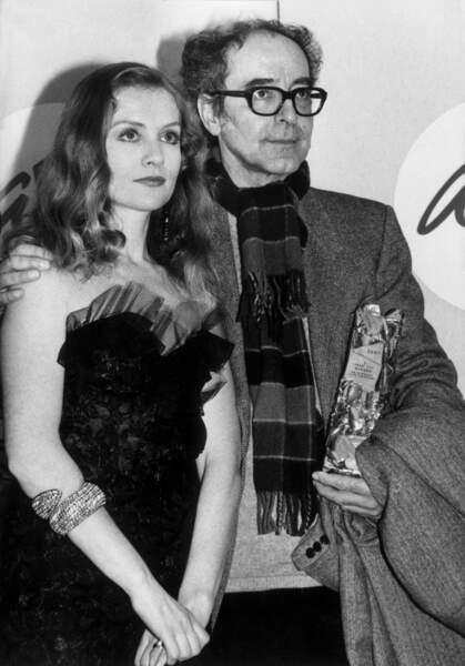 En 1987, Isabelle Huppert remet un Cesar d'honneur à Jean-Luc Godard pour l'ensemble de sa carrière.