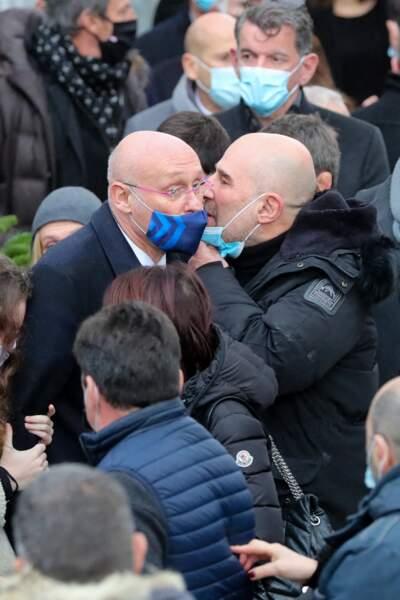 Vincent Moscato et Bernard Laporte se sont soutenus