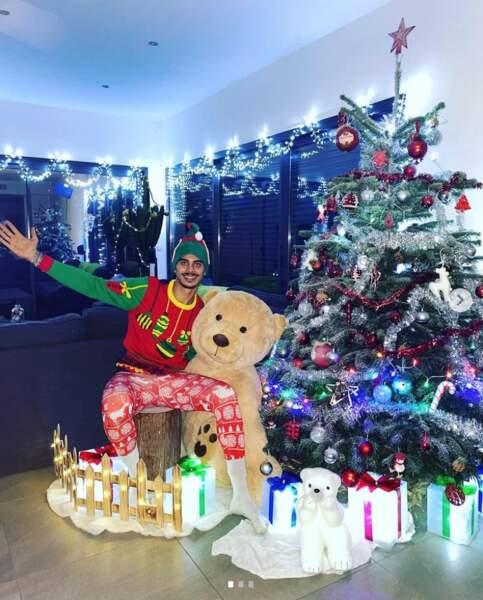 Greg Yega est prêt pour les fêtes de Noël