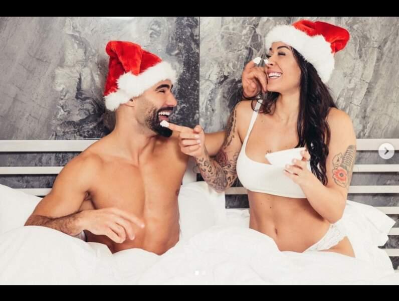 Shanna Kress et Jonathan Matijas complices à l'approche des fêtes