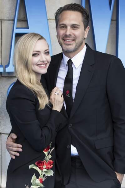 Le choix du roi pour l'actrice Amanda Seyfried et son mari Thomas Sadoski, déjà parents d'une petite Nina depuis trois ans.