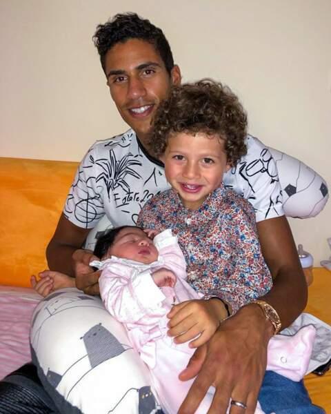 Ruben est désormais le grand frère d'Anaïs, née le 25 octobre