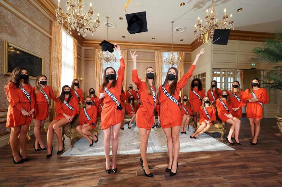 Miss Bourgogne, Lou-Anne Lorphelin, est première de la promo !