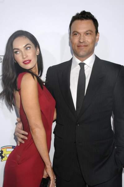 Megan Fox & Brian Austin Green Après 10 ans de mariage, trois garçons, quelques ruptures et réconciliations, c'est le clap de fin pour l'actrice qui met un terme à leur union.