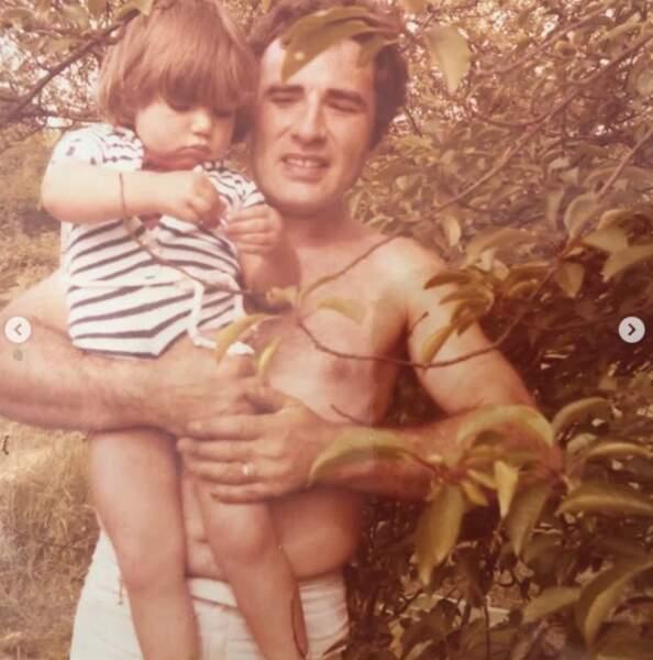 Et là c'est Ariane Brodier en compagnie de son papa.