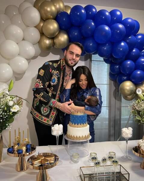 De leurs côtés, Nikola Lozina et Laura Lempika ont pu rentrer de la maternité, en grande pompe, avec leur petit Zlatan.