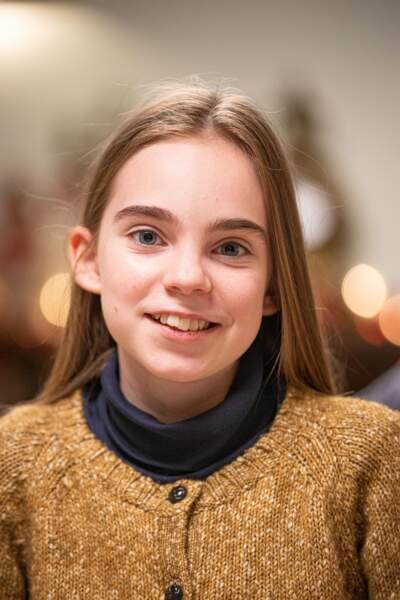 Dans l'épisode de Noël, Salomé est jouée par la jeune Juliane Lepoureau