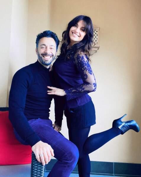 Une jolie photo en amoureux pour Laetitia Milot et son mari Badri.