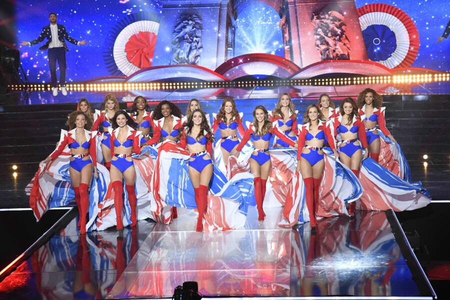 Découvrez les 15 candidates encore en lice en maillots de bain aux couleurs de notre drapeau tricolore  !