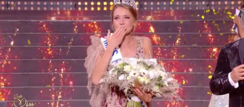Amandine Petit est Miss France 2021