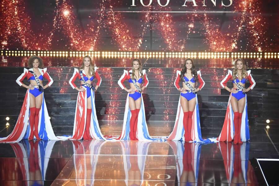 Vous connaissez désormais les 5 finalistes de l'élection Miss France 2021 !