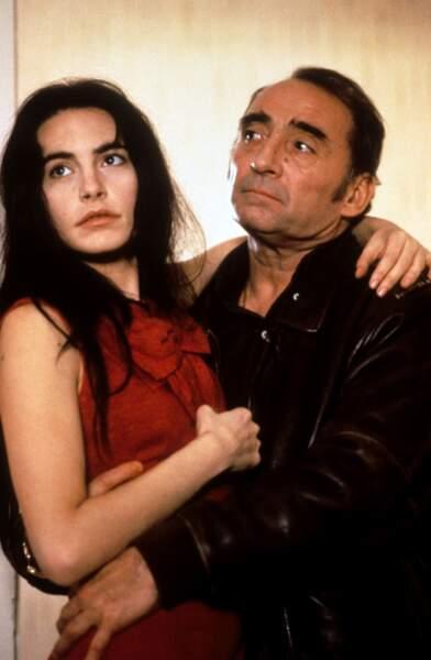 """L'acteur partage l'affiche avec la jeune Lio dans """"Sale comme un ange"""" réalisé en 1991 par Catherine Breillat"""
