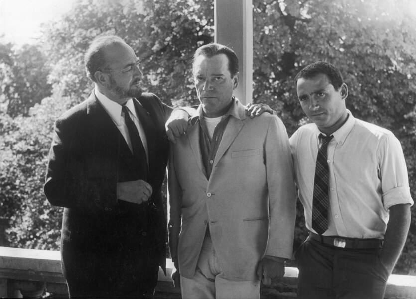 Pour la 1ère fois à l'affiche avec son père et Eddie Constantine dans le film de Michel Deville, Lucky Joe en 1964.