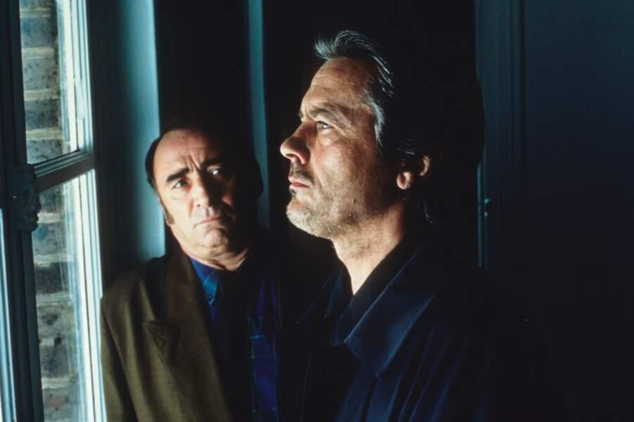 """1990 : l'acteur fait face à Alain Delon dans """"Dancing Machine"""""""