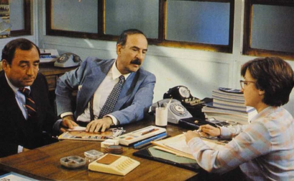 Avec Jean-Pierre Marielle et Josiane Balasko dans Signes extérieurs de richesse en 1983.