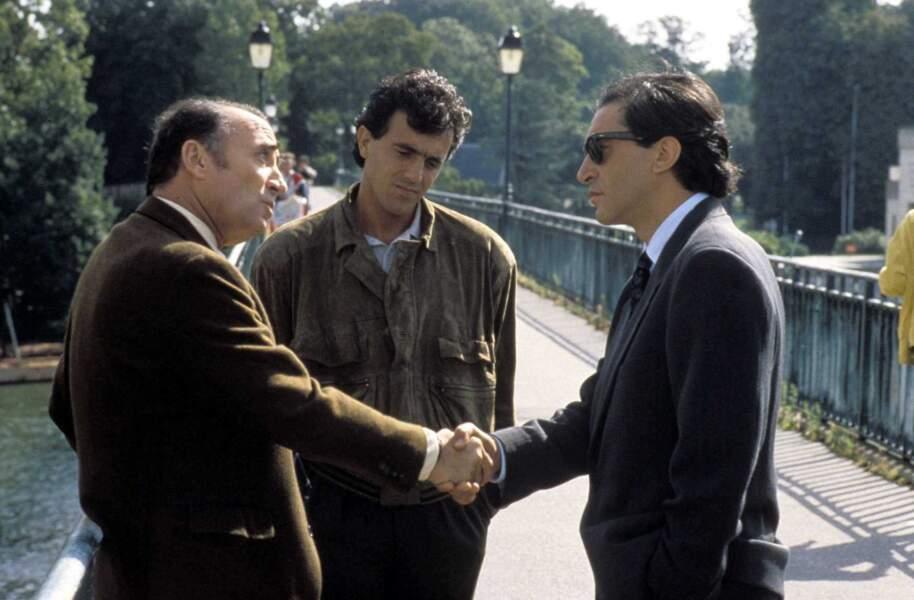 """En 1989, il tourne aux côtés de Richard Berry dans """"L'union sacrée"""" film réalisé par Alexandre Arcady"""