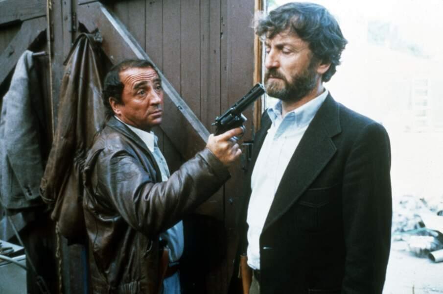 En 1979, il est le commissaire fush dans La guerre des Polices de Robin Davis. Rôle pour lequel il obtiendra le César du meilleur acteur.