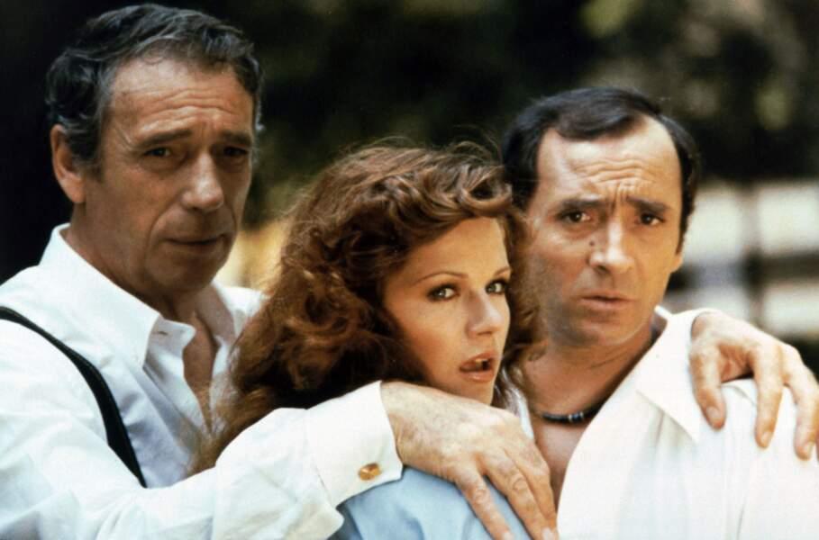 Dans Le grand escogriffe de Claude pinoteau en 1976 avec Yves Montand.