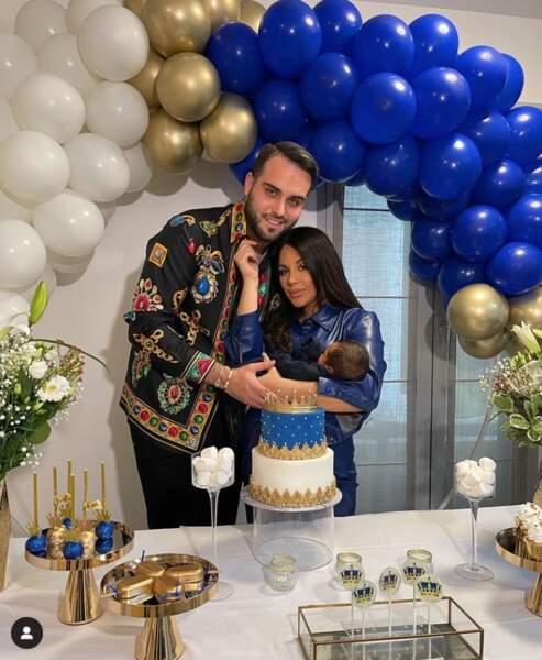 Nikola Lozina et Laura Lempika fêtent l'arrivée de leur fils à la maison