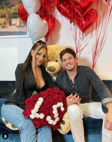 Sebydaddy fête le premier anniversaire de sa relation avec Léa Mary