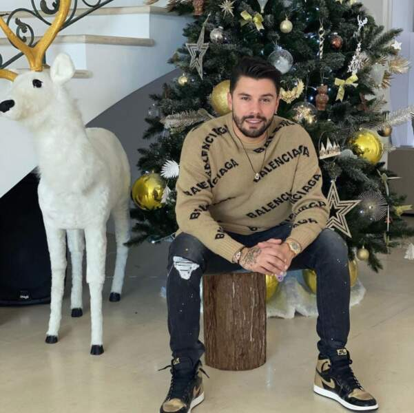 Kevin Guedj attend Noël de pied ferme