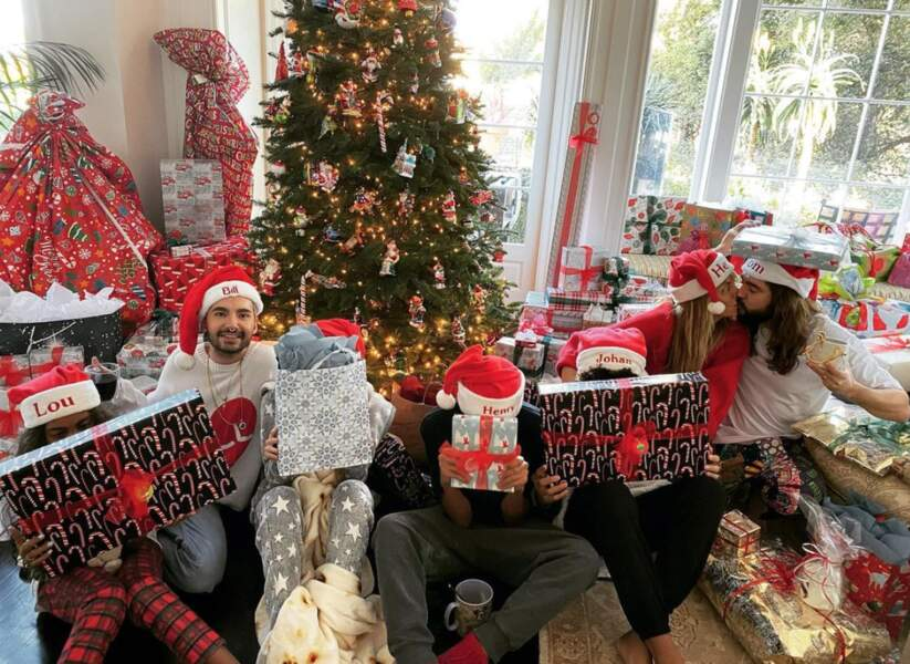 Heidi Klum et sa famille croulent sous les cadeaux