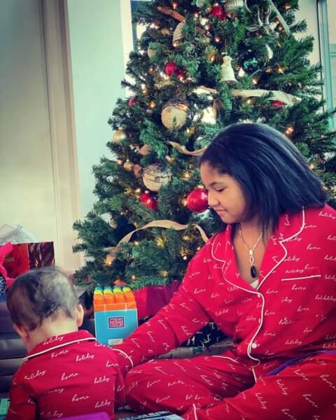 Matt Pokora a posté une adorable photo de son fils Isaiah et sa belle-fille Violet