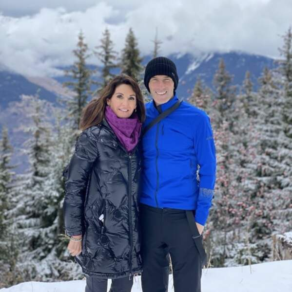 Zizou et son épouse Véronique, toujours aussi amoureux
