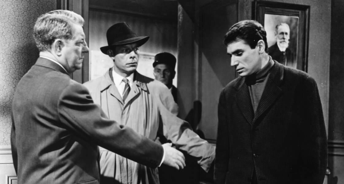Face à Jean Gabin dans Crime et châtiment (1956)