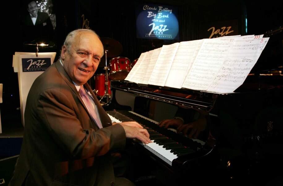 Claude Bolling, compositeur de musique de cinéma, chef d'orchestre, pianiste de jazz, disparu le 29 décembre à 90 ans