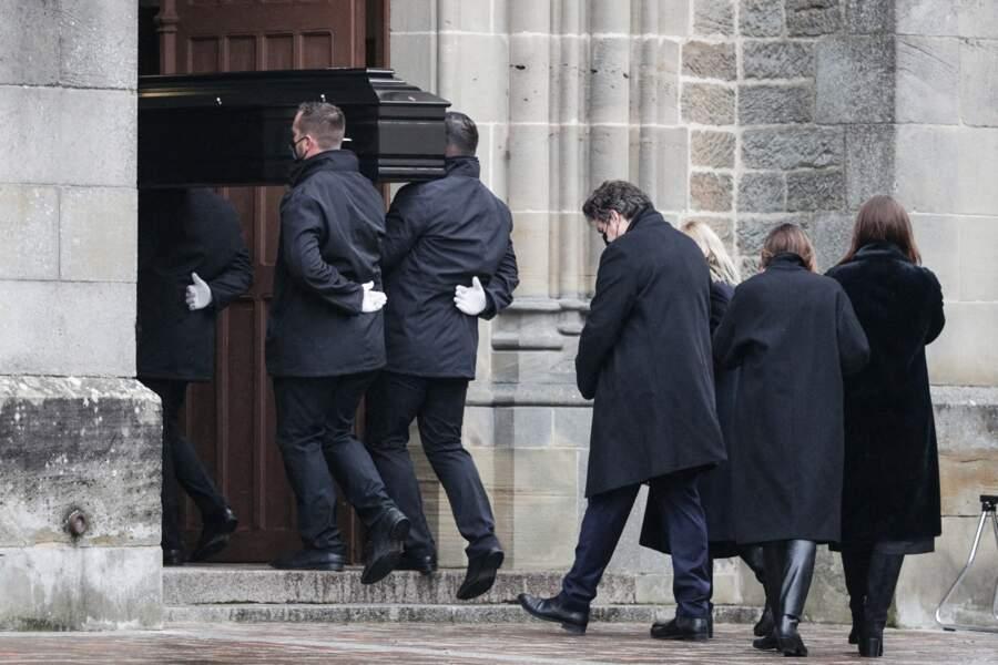 La cérémonie religieuse a eu lieu en l'église Saint-Rémy à Vittel