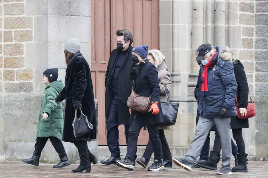 Julien Hossein, son fils, était venu accompagné de sa famille