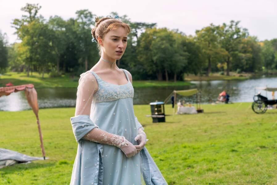 Daphne Bridgerton cherche un époux dans la saison 1 de La Chronique des Bridgerton…