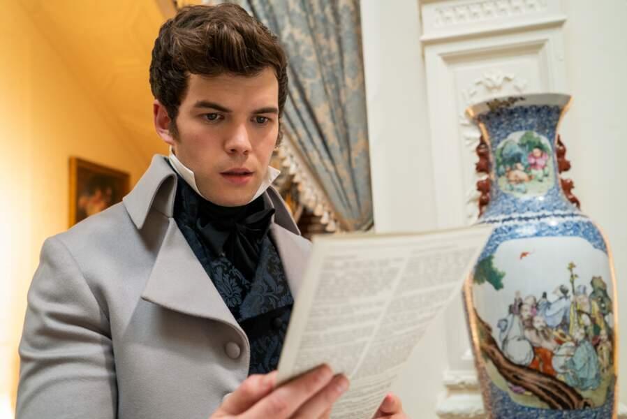 Colin Bridgerton, la cadet des garçons de la famille, est un jeune homme au coeur tendre et aux nobles idéaux.