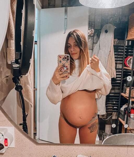 Ça pousse toujours du côté d'Alexia Mori de Secret Story, enceinte de son troisième enfant.