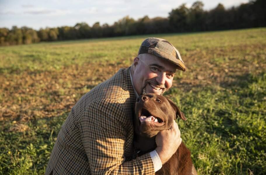 Franck a 46 ans et est sylviculteur et maraîcher en Nouvelle-Aquitaine