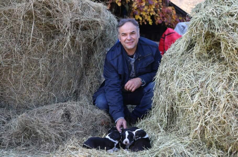 Jean-Daniel est le second suisse de l'édition ! Il a 53 ans et est vigneron et éleveur de vaches