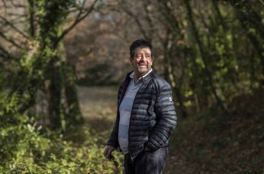 """Vincent dit """"le vigneron"""" a 51 ans et vit en région PACA"""
