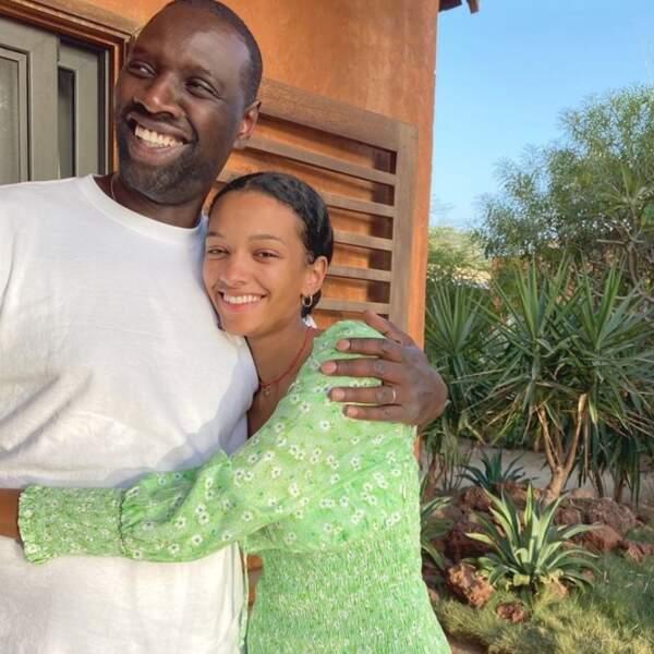 Ils sont nés le même jour : Omar Sy et sa fille aînée Selly, 20 ans !