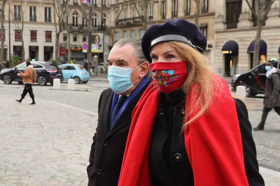 Cyrielle Clair et son mari Michel Corbière.