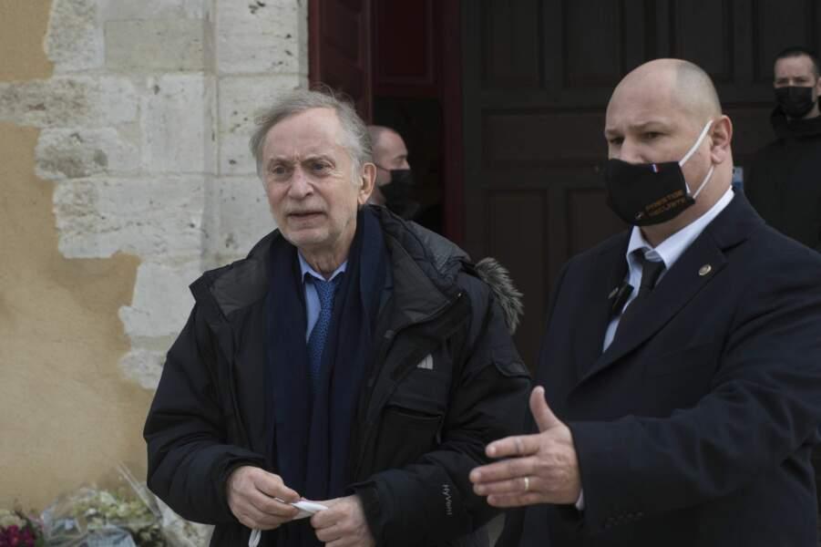 Michel Godest, l'avocat de Rémy Julienne et de Jean-Paul Belmondo, qui n'avait pu être présent