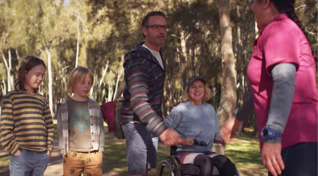 Andrew Lincoln revient sur les écrans en 2021 dans le drame inspiré d'une histoire vraie Penguim Bloom sur Netflix