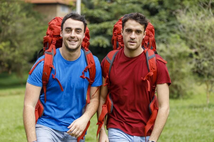 Pierre-Louis et Arnaud, les frères fêtards