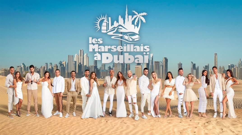 La photo officielle de la dixième saison des Marseillais tournée à Dubaï