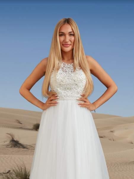 Et voici la jolie Luna, récemment apparue dans la huitième saison des Princes de l'amour !