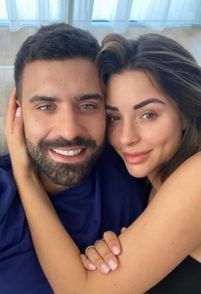 Autre anniversaire, celui de l'amoureux de Rym Renom, Vincent Queijo, qui a soufflé sa 31e bougie aux côtés de la maman de sa fille !